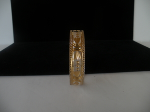 Micro coated bangle two tone finish 11