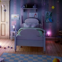 Making of Children room