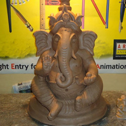 Arena Chrompet Trained 220 People in Making Eco-friendly Ganesha Idol