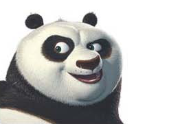 Draw and paint Po the Panda, watch KUNG FU PANDA