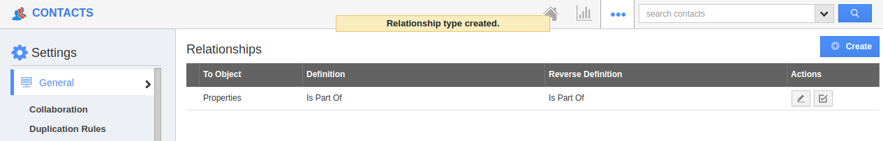 Established Relation