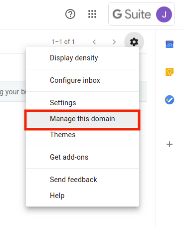 Manage This Domain