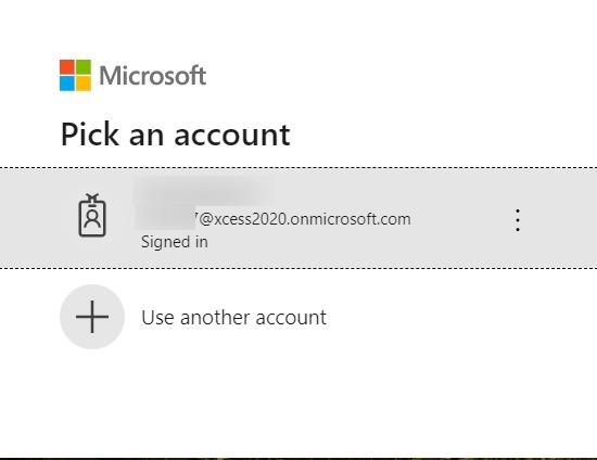 Pick An Account