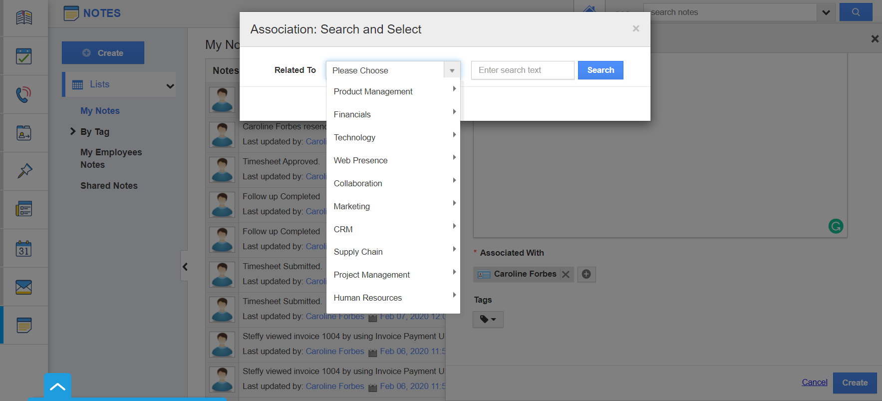 Search Association