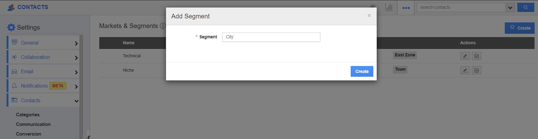 Add Segment