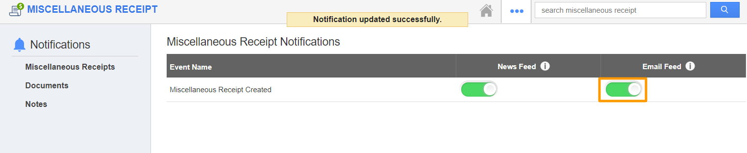 Enabled Email
