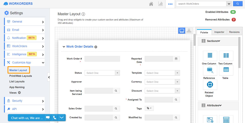 Work Orders App