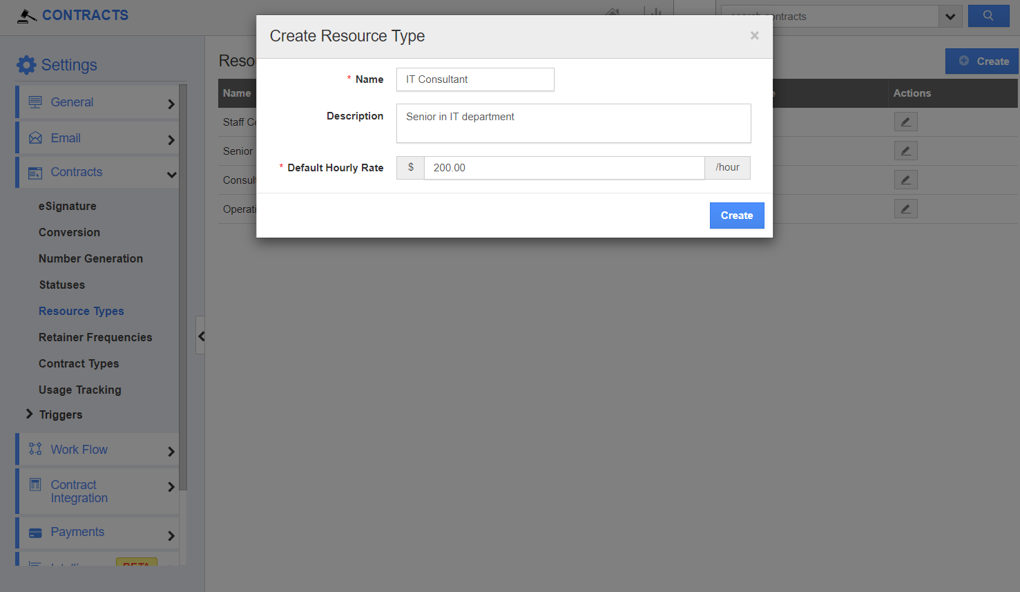 Create Resource Type