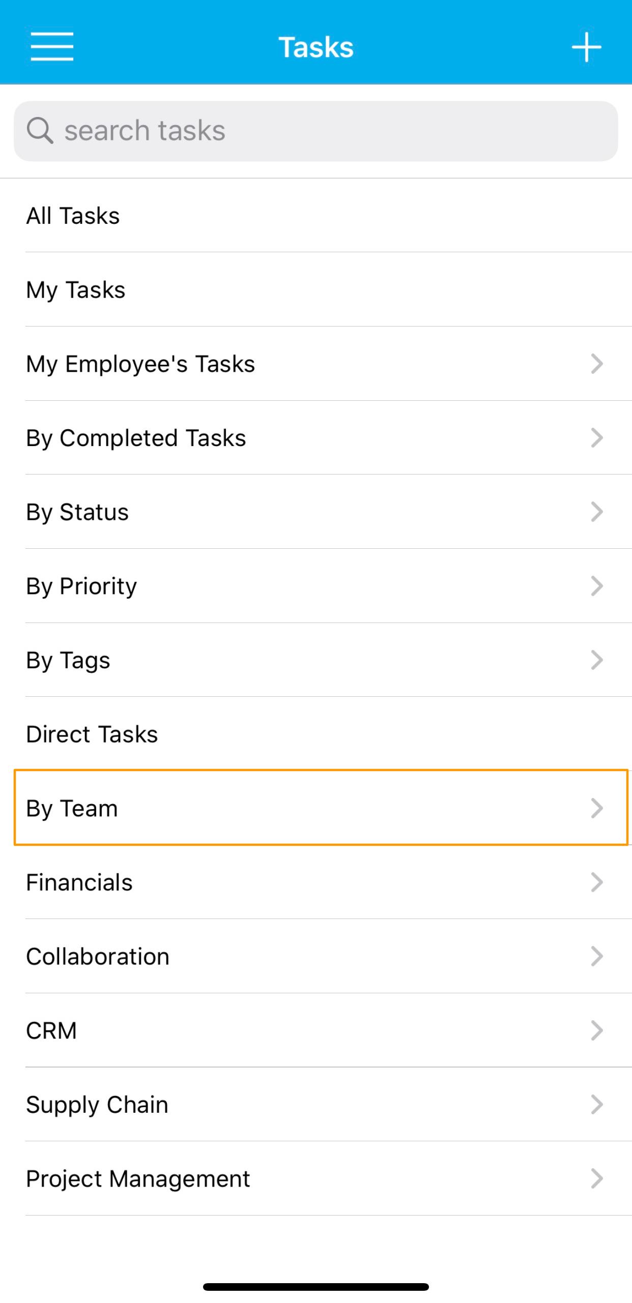 Tasks Activity