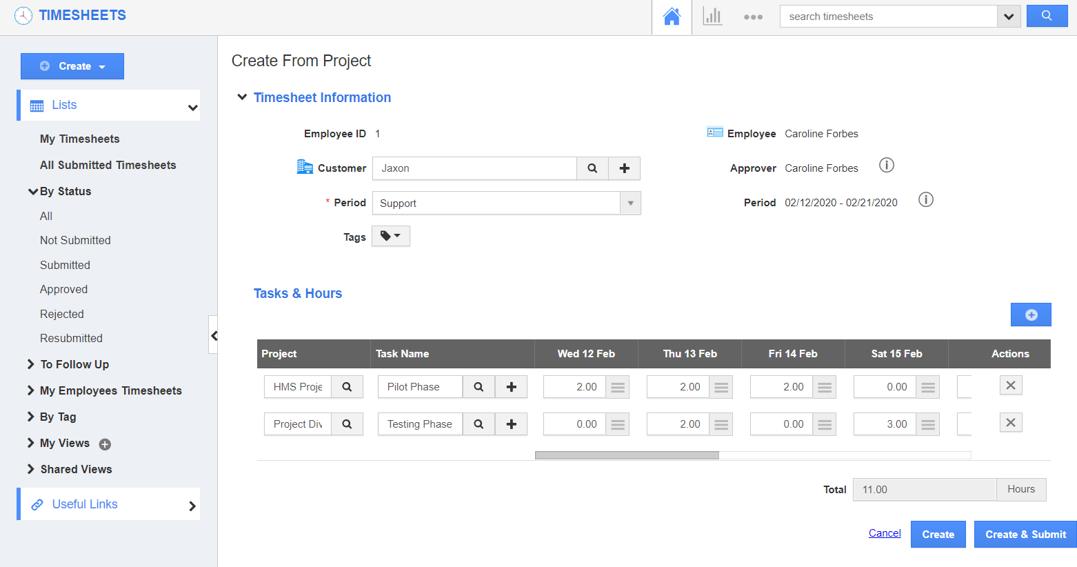 Add Multiple Projects