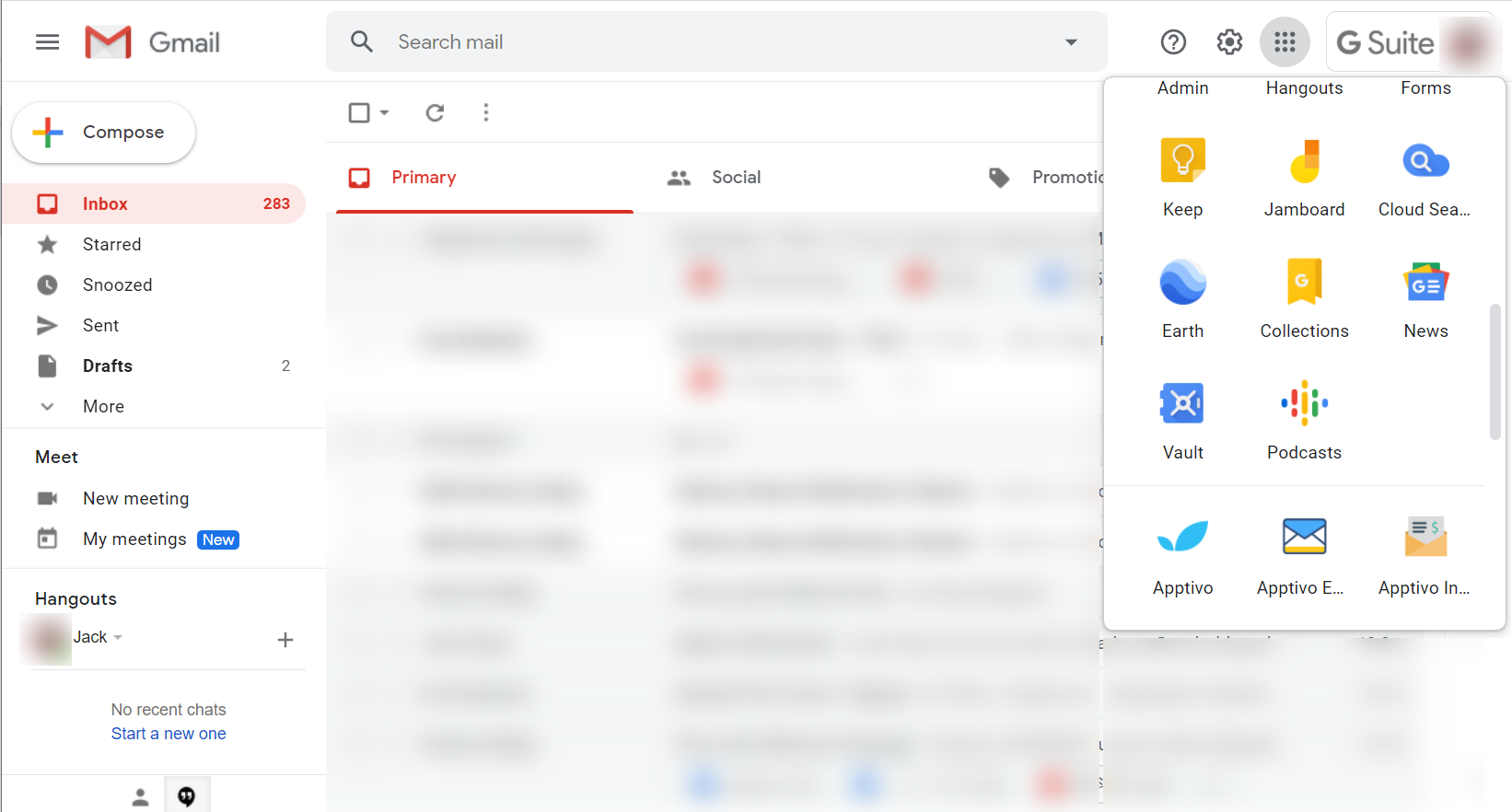 Apptivo Emails