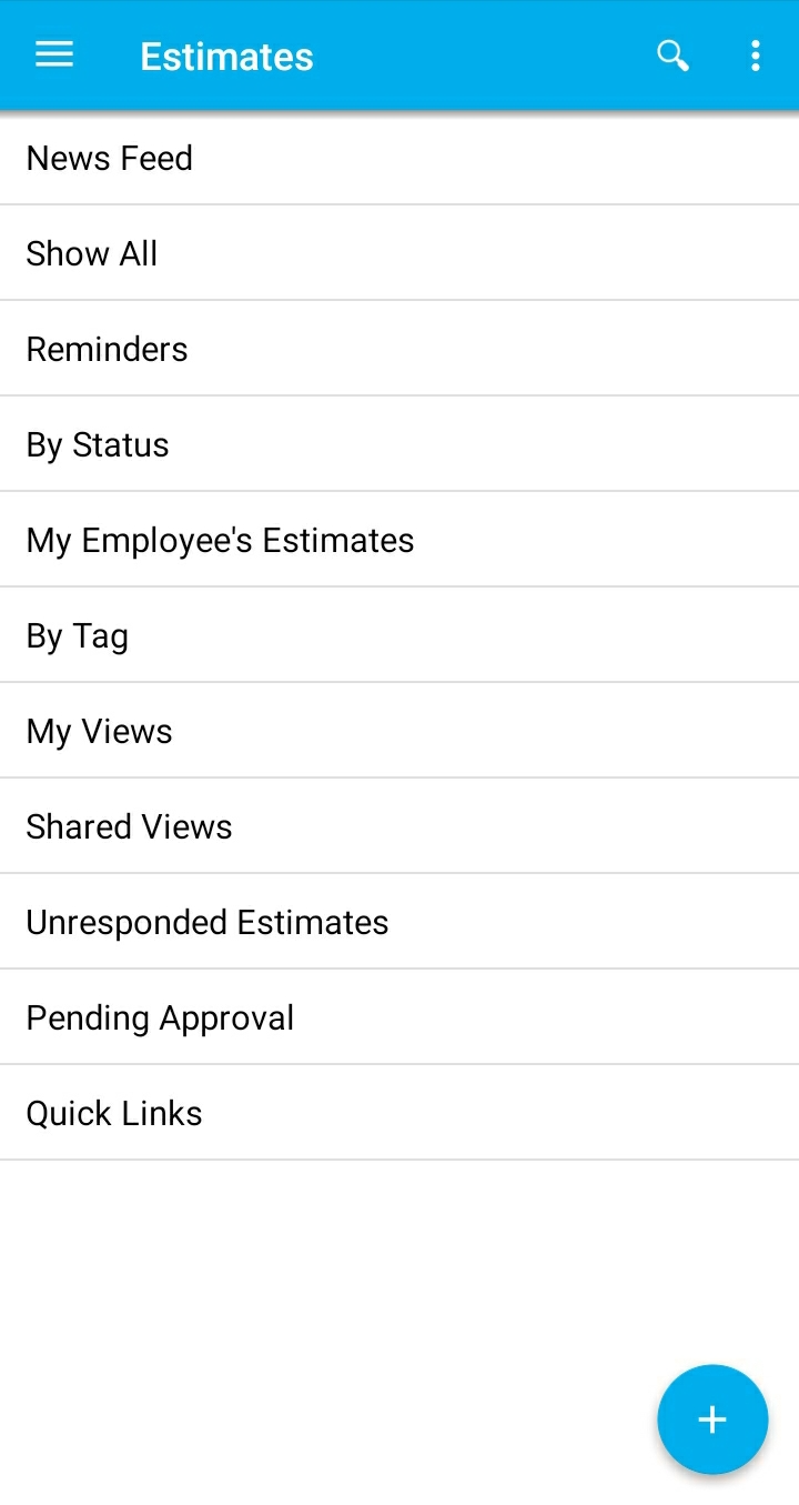 Estimates App