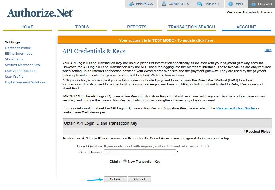 a.net keys