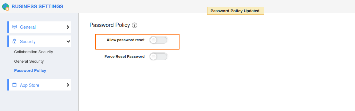 Disabled-password-reset